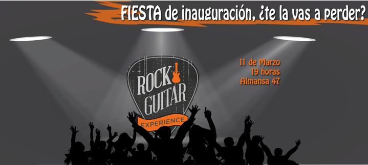 Rock Guitar Experience: inauguramos dando la nota