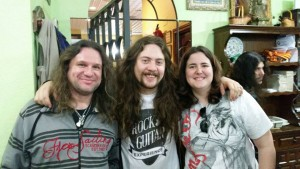 Con Luis Romero