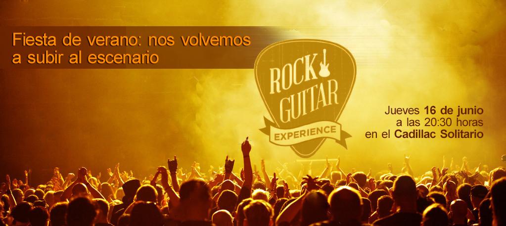 Alumnos y profesores de Rock Guitar Experience vuelven al escenario