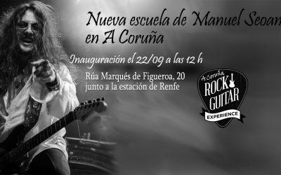 La escuela de Rock Guitar Experience abre una nueva sede en A Coruña